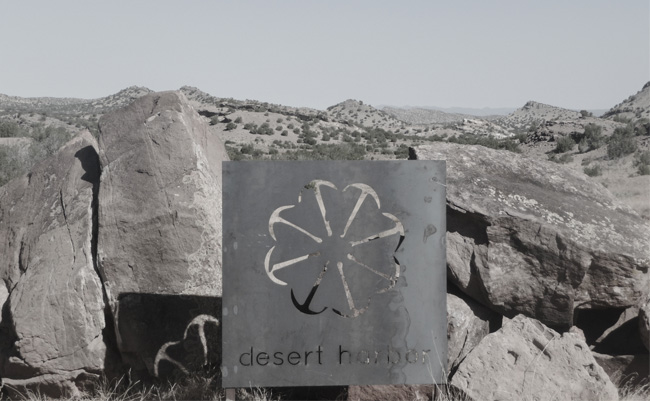 Desert Harbor Sign