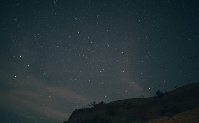 stars and cliff